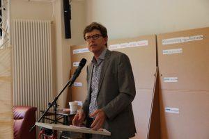 Staatssekretär für Bauen und Wohnen Prof. Dr.-Ing. Engelbert Lütke Daldrup eröffnete die Auftaktveranstaltung