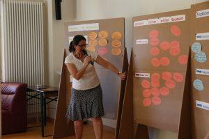 Quartiersmanagerin Luzia Weber stellte die Ideen vor