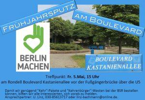 Putzaktion Flyer